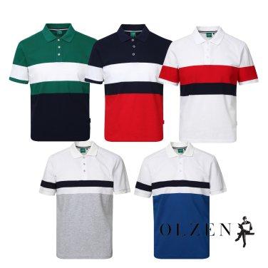컬러블럭 티셔츠 모음ZAY2TT1332,9