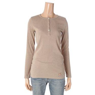 [여성]헨리넥 슬림핏 티셔츠(T196MTS135W)