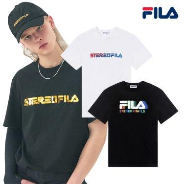 FILA X 스테레오 바이널즈 콜라보 COLOUR of SOUND 티셔츠 8종 택1 (FE2RSB5202X_LSKU)