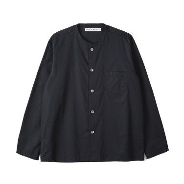NOCLAIM Standard fit Oxford Shirts Lavender