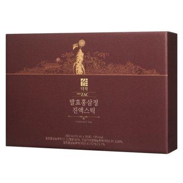 [더작]발효홍삼정 진액스틱