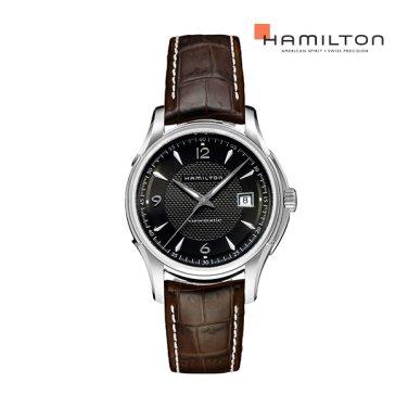 H32515535 재즈마스터 뷰매틱 40mm 블랙  남성 시계