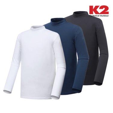 남성 하이넥 티셔츠 (KMU16251)
