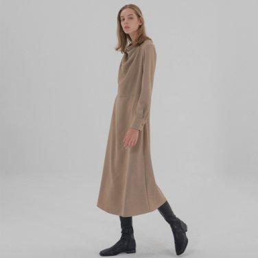 Drape Dress - Beige