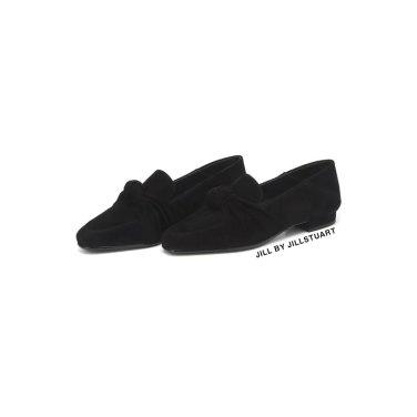아델라인 블랙 매듭장식 양가죽 로퍼 FPSO9F109BK