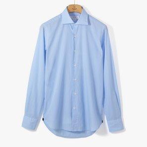 [ORIAN](ST) POPELINE DRESS SHIRT SKY BLUE/OR92M40013A83