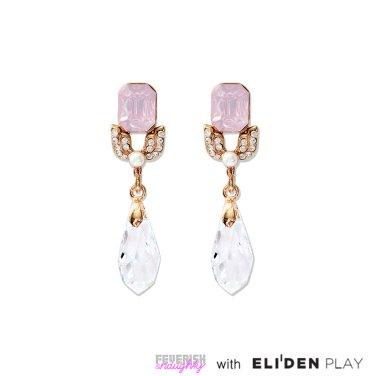 [피버리쉬앤너티] VANITY EARRINGS-GOLD (VT1E1)
