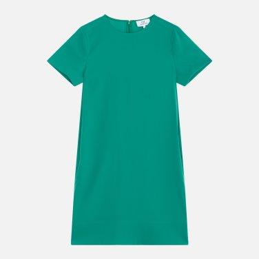 반소매 코쿤 숏 드레스 (VWMT1OO08AA0)