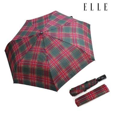 타탄체크전자동우산