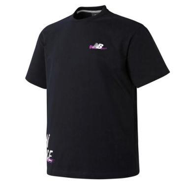 남여공용 캠페인팩 드로잉 티셔츠(NBNE922073)