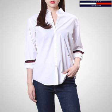 TFMT1HCE05A0(코튼 레귤러핏 솔리드 셔츠)