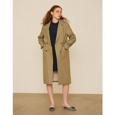 Jacket Trench Coat _ Khaki