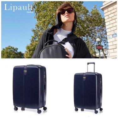 캐리어 GR561002 블루 HARDSIDE AVENUE 26인치 확장형 하드 여행 가방