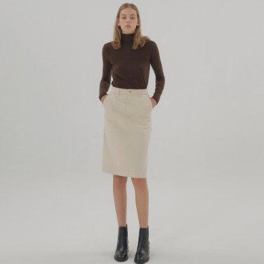 Long Sleeve Turtleneck - Brown