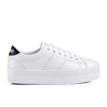 NO NAME Plato Sneaker Nappa/Patent(001)플라토 스니커 SNNF1NB04-001