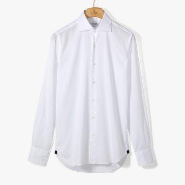 [ORIAN](ST) FIL A FIL DRESS SHIRT WHITE/OR92M40011A00