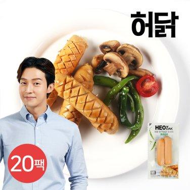 닭가슴살 소시지 매콤훈제 120g 20팩
