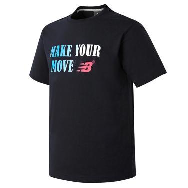 남여공용 그라데이션 레터링 티셔츠 (NEW BASIC FIT) - NBNE920063
