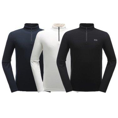 남성용 WARM-BIZ 짚업 티셔츠 (KMU19235EL)