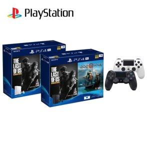 PlayStation®4 PRO 번들팩 1TB + 추가 듀얼쇼크 / 갓오브워 / 라스트오브어스 포함