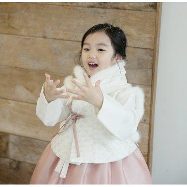[살롱드샬롯]숏배자+아동한복 SET