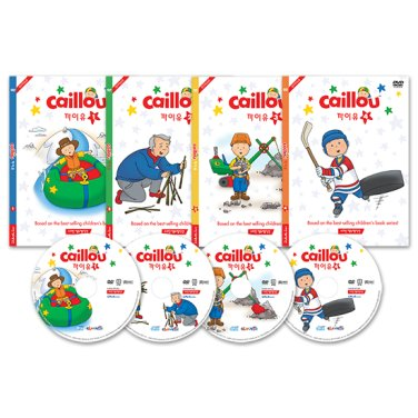 [DVD] Caillou: Fun with Caillou 4종 세트
