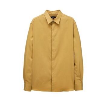머스타드 스웨이드터치 텐셀 셔츠 (ARSH0A106Y2)