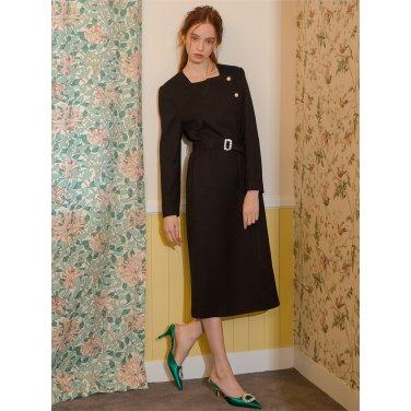 [일루스트리스일루전] BLACK BELT DRESS