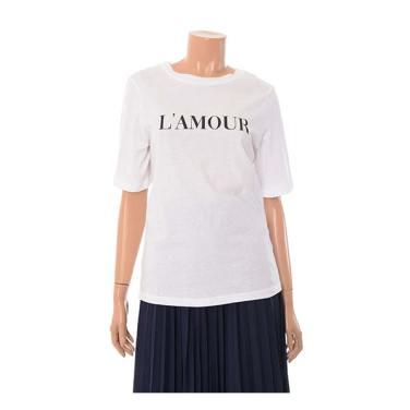 라모르 면 티셔츠 OW9AE134-EL3