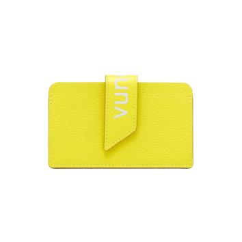 [vunque] Occam Flag Card Wallet (오캄 플래그 카드지갑) Lime VQA91CW3011