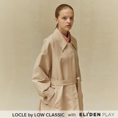 [로우클래식] 19 FALL LOCLE Over fit trench coat_beige (Z3LCI6CT101)