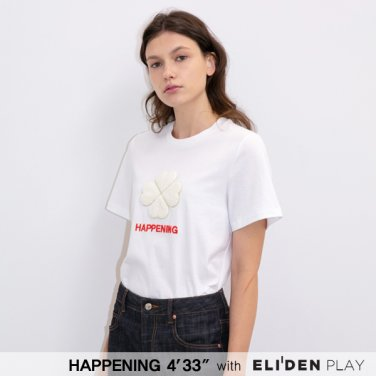 [HAPPENING 433] 20SS HEART-4 LUCKY T SHIRTS_WHITE (HP202TS01)
