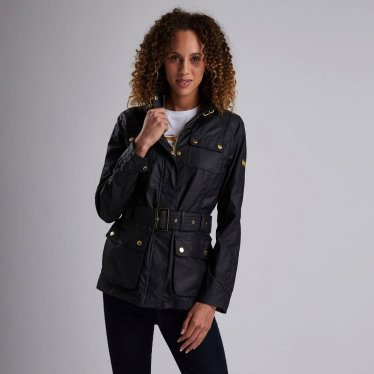 B.Intl Bearings Casual 여성 인터내셔널 베어링스 캐주얼 자켓 블랙 (LCA0203BK12)