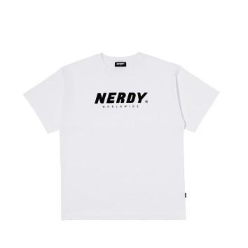 남녀공용 Basic Big Logo 1/2 Sleeve T-shirt_PNEU20KT1300