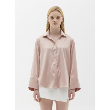 satin blouse pink SH05