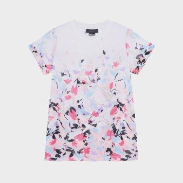 프린트 패턴의 티셔츠(DW1J1TTS253C)