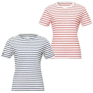 여성용 스트라이프 라운드 티셔츠 (5217TR281,5217TR282)