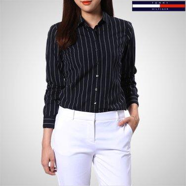 TFMS3HCE62A0(코튼 핏티드 스트라이프 셔츠)