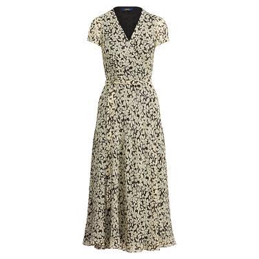 폴로 랄프 로렌 플로랄 크레이프 랩 드레스(WMPODRSN2010009B67)