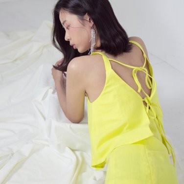 ILLUSION TOP YELLOW