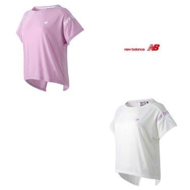 WOMEN 뒷트임 크롭 티셔츠 NBNE92W032