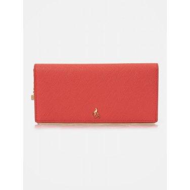 루시 2단 장지갑 - Red (BE01A4T026)
