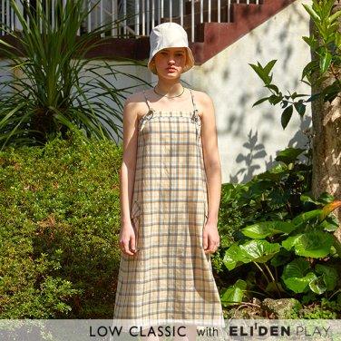 [로우클래식] 19 SUMMER LOCLE _ pocket sleeveless dress check (Z3LCI5DR109)