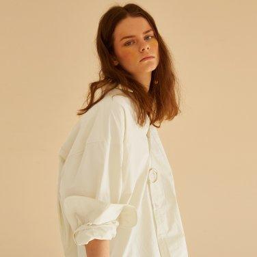 Traditional Wind Shirt_Cotton Cream  (JC18SSSH03CC)