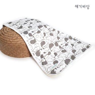 애기바당 신생아블랭킷 코롱코롱 속싸개[돌고래]