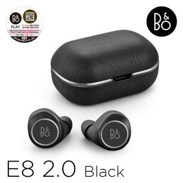 [정품] 베오플레이 E8 2.0 (Beoplay E8 2.0) Black 완전 무선 블루투스 이어폰
