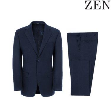 F/W 블루 울혼방 솔리드 포멀핏 춘추 정장 (ZNBC01-012)