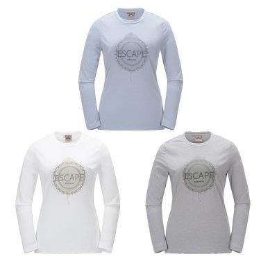 DENALI (데날리) 여성 라운드 티셔츠 / 등산티,긴팔티,라운드티 (DWU17266)