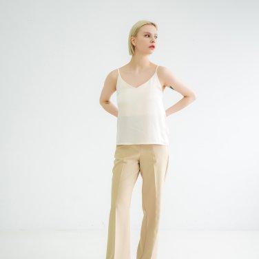 Shoulder strap Sleeveless Tshirts Cream(BSTS320_10)