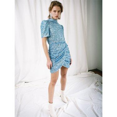 [더애쉴린] ELSA SEQUINED BACKLESS DRESS